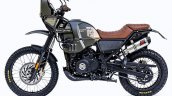 Modified Royal Enfield Himalayan Left Side