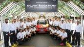 Skoda Rapid 100000th Sedan 1
