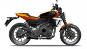 Harley Davidson 338cc Bike Press Images Right Side