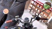 Super Soco Tc Spied In India Cockpit