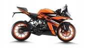 Ktm Rc 125 Orange Right Side