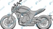 Cfmoto 700 Cc Bike Leaked Patents Left Side