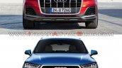 2019 Audi Q7 Vs 2015 Audi Q7 Front