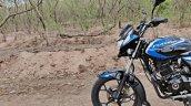 Bajaj Platina 110 H Gear Review Black And Blue Fro