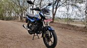 Bajaj Platina 110 H Gear Review Black And Blue Fro
