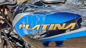 Bajaj Platina 110 H Gear Review Black And Blue Fue