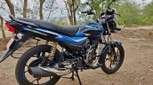 Bajaj Platina 110 H Gear Review Black And Blue Rig