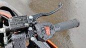 Ktm Rc125 Review Still Shots Brake Lever