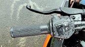 Ktm Rc125 Review Still Shots Clutch Lever