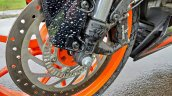Ktm Rc125 Review Still Shots Front Disc Brake 2