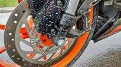 Ktm Rc125 Review Still Shots Front Disc Brake 2