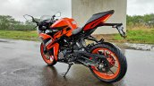 Ktm Rc125 Review Still Shots Left Rear Quarter