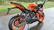 Ktm Rc125 Review Still Shots Right Rear Quarter