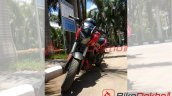 2019 Bajaj Dominar 400 Snapped In Red Colour 1