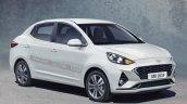 Hyundai Xcent Iab Render