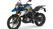 Bmw G 310 Gs Strato Blue Metallic Left Front Quart