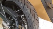 Bajaj Dominar 400 In Russia Rear Wheel