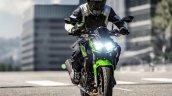 2020 Kawasaki Z400 Front Motion Shot