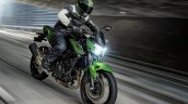 2020 Kawasaki Z400 Front Three Quarters Motion Sho