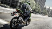 2020 Kawasaki Z400 Rear Three Quarters Motion