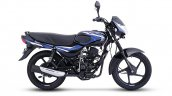 New Bajaj Ct110 Gloss Ebony Black With Blue Decals