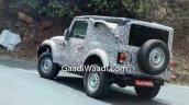 2020 Mahindra Thar Spied India 696x416