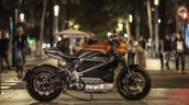 Harley Davidson Livewire Orange Fuse Side Profile