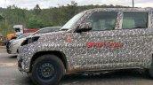 2019 Mahindra Tuv300 Plus Spied Test 4