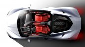 2020 Chevrolet Corvette Stingray Sketch Top