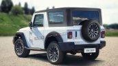 Mahindra Thar 2020 Rear Quarter View 1