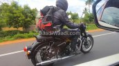 2020 Royal Enfield Classic Spied Right Rear Quarte
