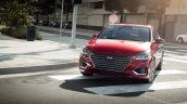 Hyundai Verna Accent Ext 36 Pomegranate Red 1