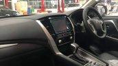 Mitsubishi Pajero Sport Interior Spy