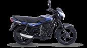 Bajaj Ct 110 Blue Side Profile