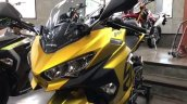 Kawasaki Ninja 250 Custom Paint Job Headlight