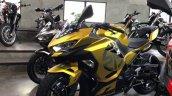 Kawasaki Ninja 250 Custom Paint Job Left Front Qua