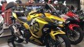 Kawasaki Ninja 250 Custom Paint Job Right Front Qu