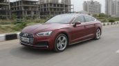Audi A5 Sportback Review Images Front Three Quarte