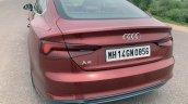 Audi A5 Sportback Review Images Rear Three Quarter