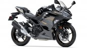 2020 Kawasaki Ninja 400 Black Grey Front Three Qua