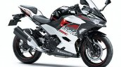 2020 Kawasaki Ninja 400 White Black Front Three Qu