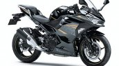 2020 Kawasaki Ninja 250 Grey Black Front Three Qua