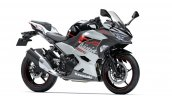 2020 Kawasaki Ninja 250 White Black Front Three Qu