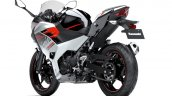 2020 Kawasaki Ninja 250 White Black Rear Three Qua