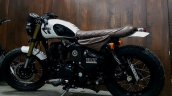 Modified Royal Enfield Bulleteer Customs Left Side