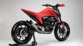 Hond Cb125m Concpet Eicma 2018 Rear Three Quarters