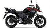 2020 Suzuki V Strom 250 Black Red Side Profile
