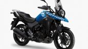 2020 Suzuki V Strom 250 Blue Front Three Quarters