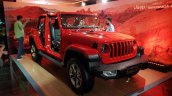 Jeep Wrangler Unlimited Jlu Red Front Three Quarte