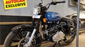 Royal Enfield 350x Blue Left Front Quarter